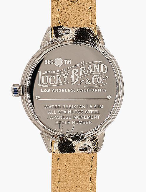 Torrey Leather Wrap Watch,