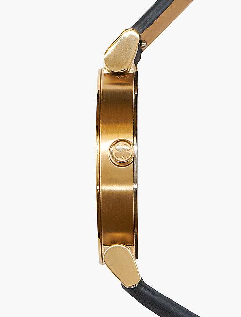 Carmel Navy Leather Watch,