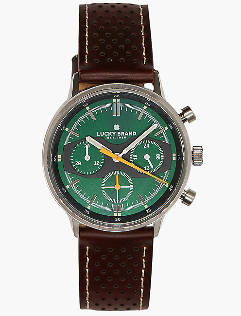 Fairfax Brown Perforated Watch,