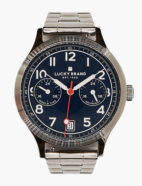 Jefferson Multi Silver Watch,