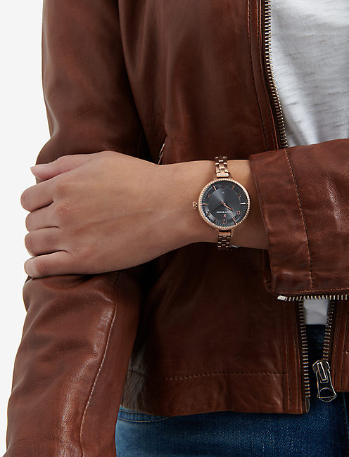 Torrey Skinny Rose Gold Watch