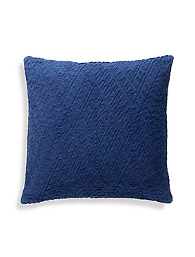 18X18 DIAMOND MATELASSE PILLOW