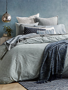 SANTE FE STRIPE FULL/QUEEN DUVET SET