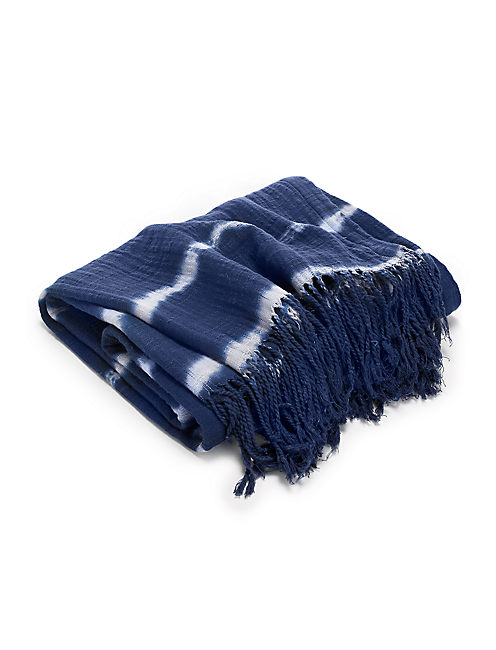 SHIBORI THROW,