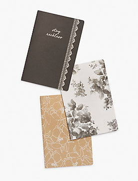 SET OF 3 JOURNALS