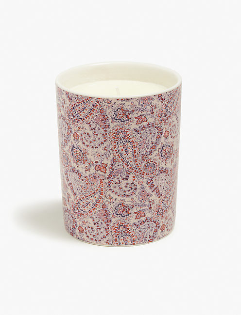 PRINTED CANDLE, LIGHT PINK