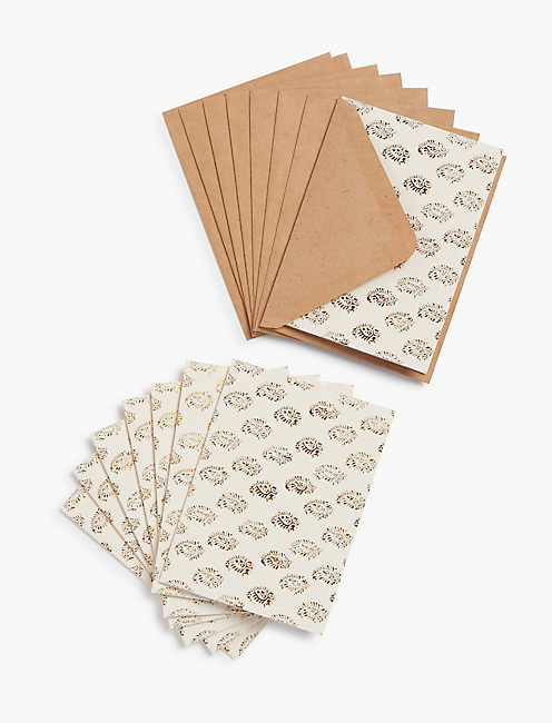 PRINTED NOTECARD SET,
