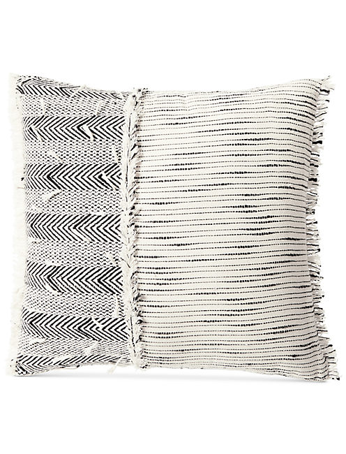 20X20 WOVEN TEXTURED DECORATIVE PILLOW,