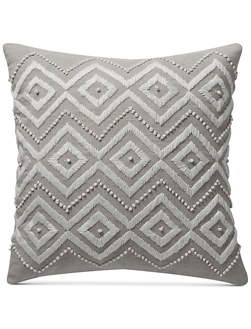 17X17 DIAMOND DECORATIVE PILLOW,