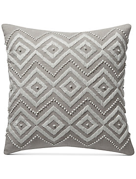 17X17 DIAMOND DECORATIVE PILLOW