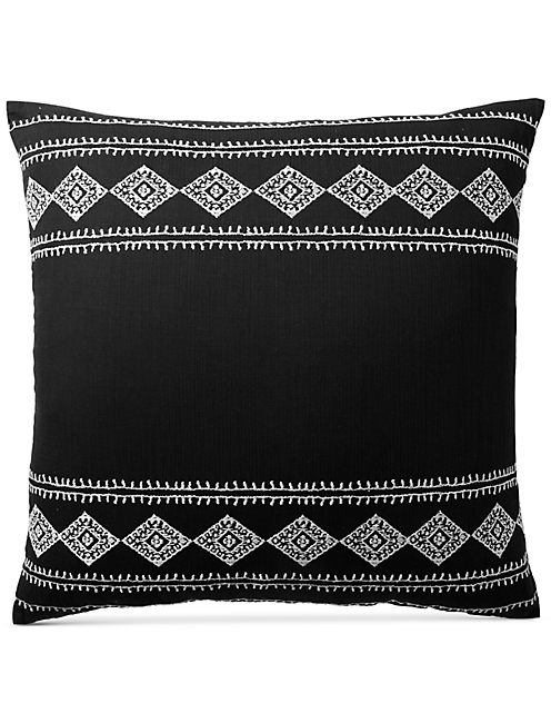 EMBROIDERED IKAT EURO SHAM,