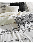 EMBROIDERED IKAT COMFORTER  SET,
