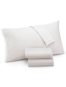 FRINGE IVORY CAL KING SHEET SET