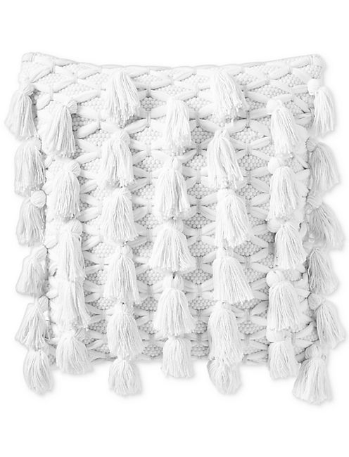18X18 ALL TASSEL DECORATIVE PILLOW,