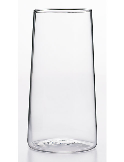 SET OF 4 HIGHBALL CLEAR GLASSES,