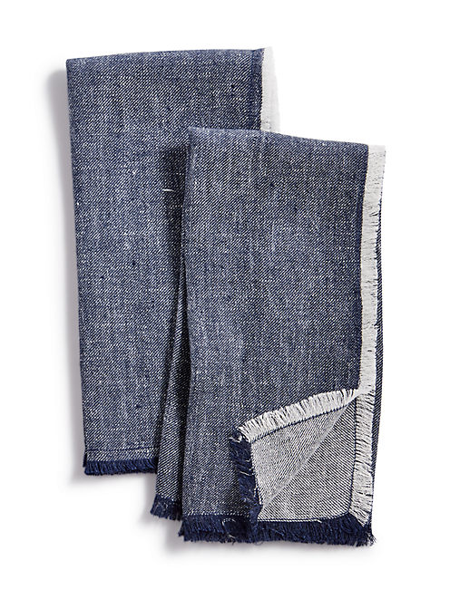 DENIM SET OF 2 NAPKINS,