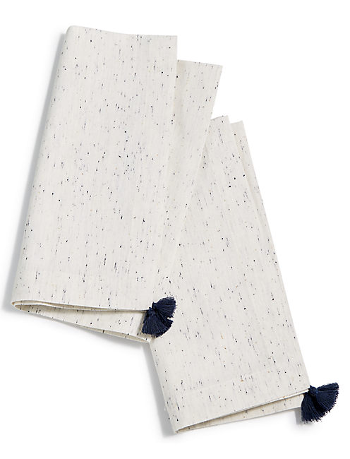 IVORY TASSEL  SET OF 2 NAPKINS,
