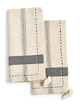 PICK STITCH NAPKIN SET