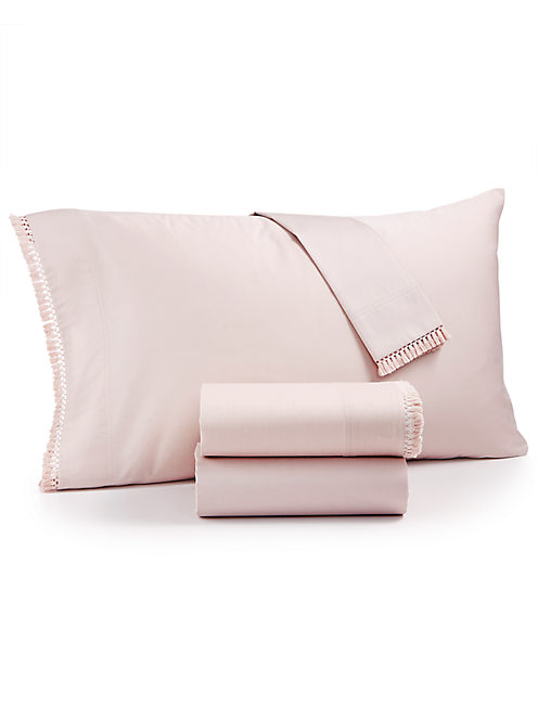 FRINGE BLUSH SHEET SET,