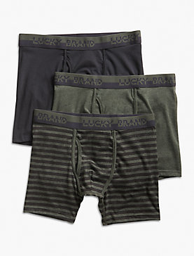 3 PACK STRETCH BOXER BRIEF