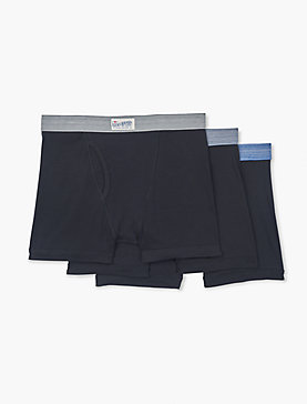 3 PACK COTTON BOXER BRIEFS