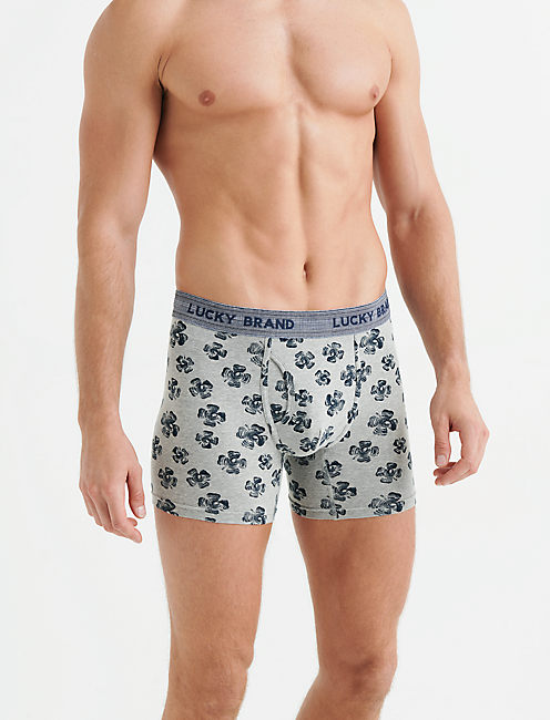 Lucky 3 Pack Stretch Boxer Brief-Edi Default