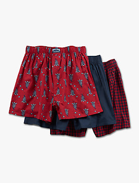 GIFT 3 PACK WOVEN BOXER