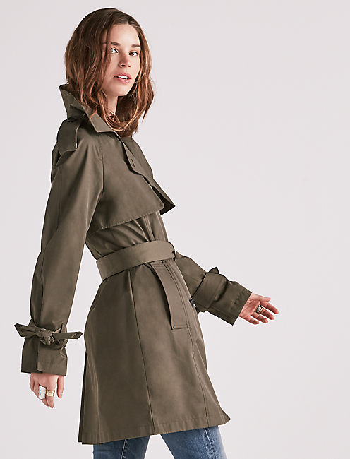 LIGHTWEIGHT TRENCH JACKET,