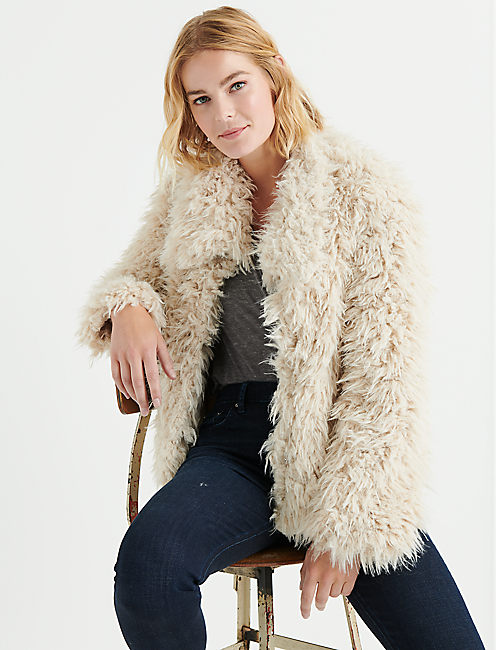 Lucky Faux Fur Jacket