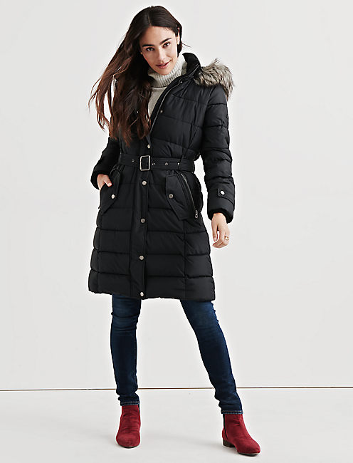 Lucky Long Puffer Coat