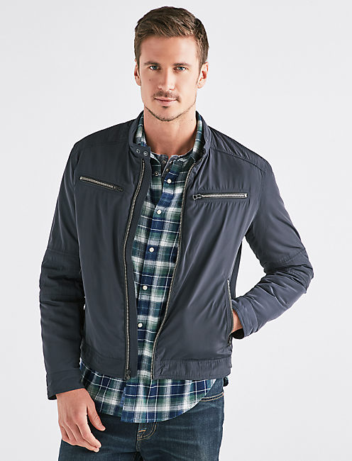 NYLON BONNEVILLE JACKET,