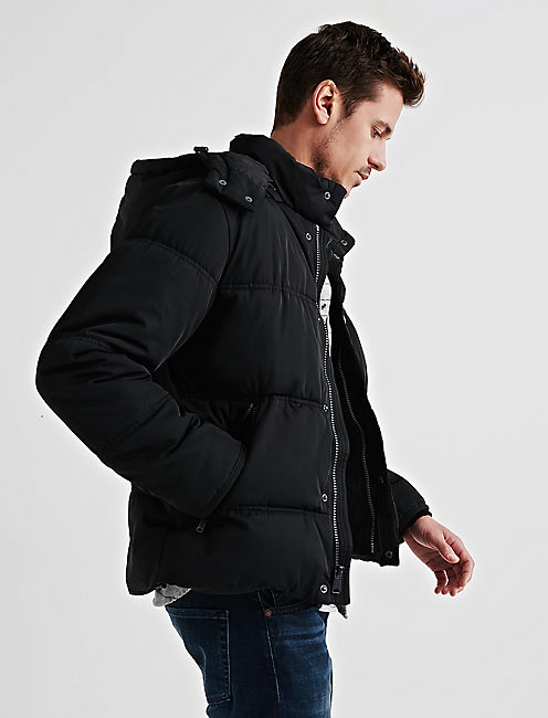 Lucky Hooded Puffer Jacket