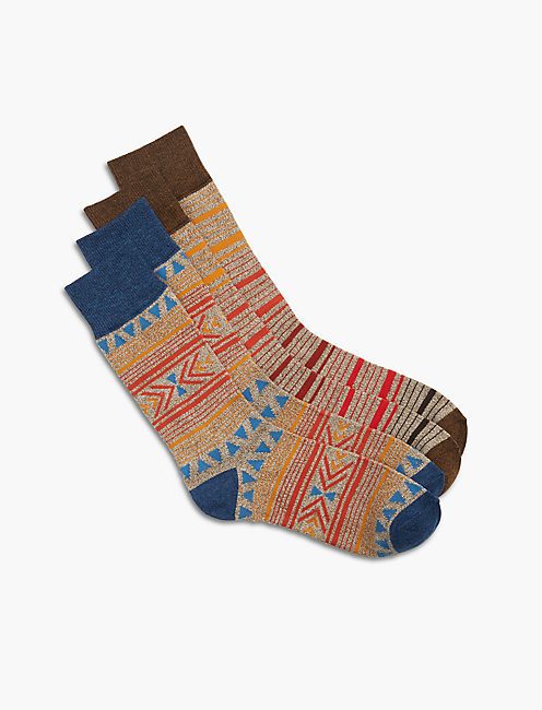 2 Pack Aztec Sock,