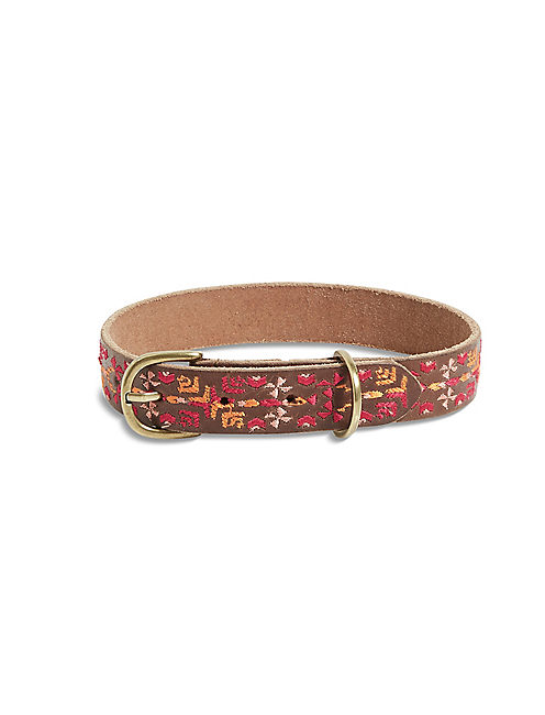 AZTEC EMBROIDERED COLLAR,