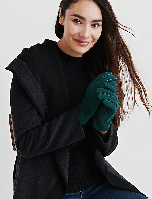 WHIPSTITCH LEATHER GLOVES,
