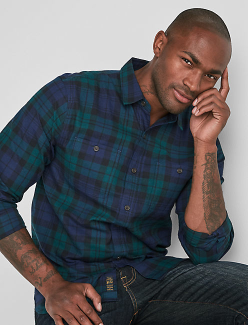 Mason Workwear Flannel Shirt,
