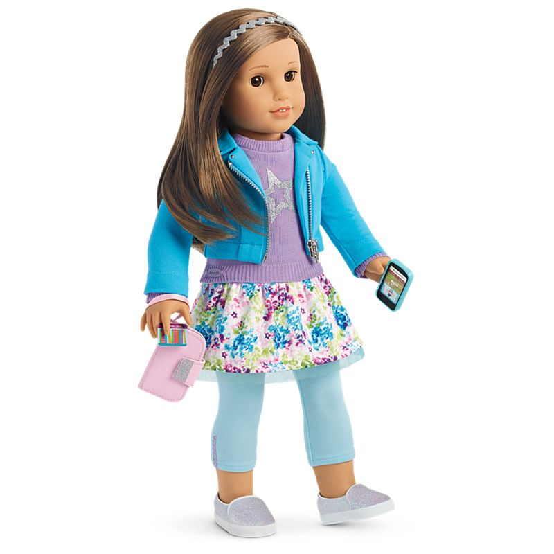 American Girl Truly Me™ Doll #68 + Truly Me Accessories