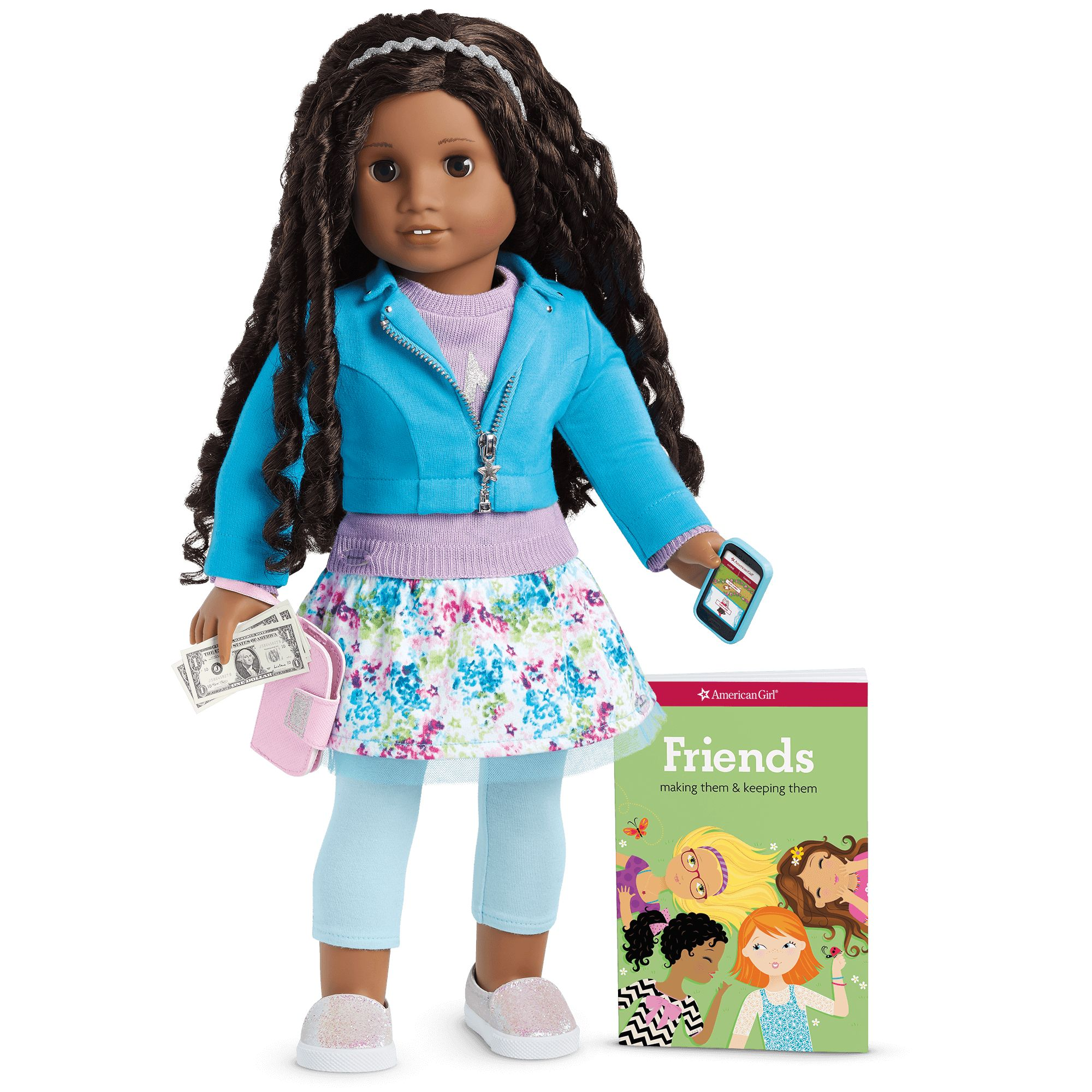 Truly Me™ Doll #5 + Truly Me Accessories