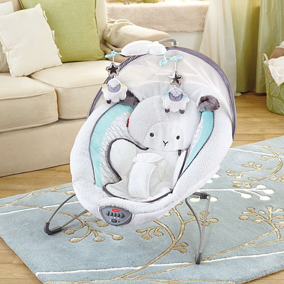 Fisher Price Bouncer >> My Little Lamb™ Platinum II Deluxe Bouncer