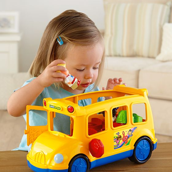 Toddler Toys People : Little people lil moverstm school bus shop