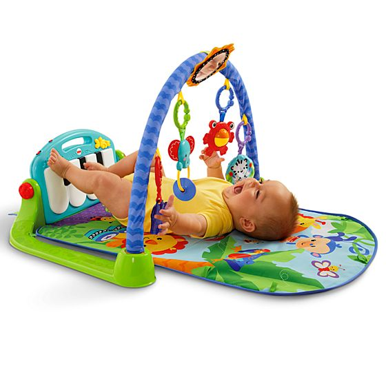 Gin sio pianinho for Chaise 4 en 1 fisher price