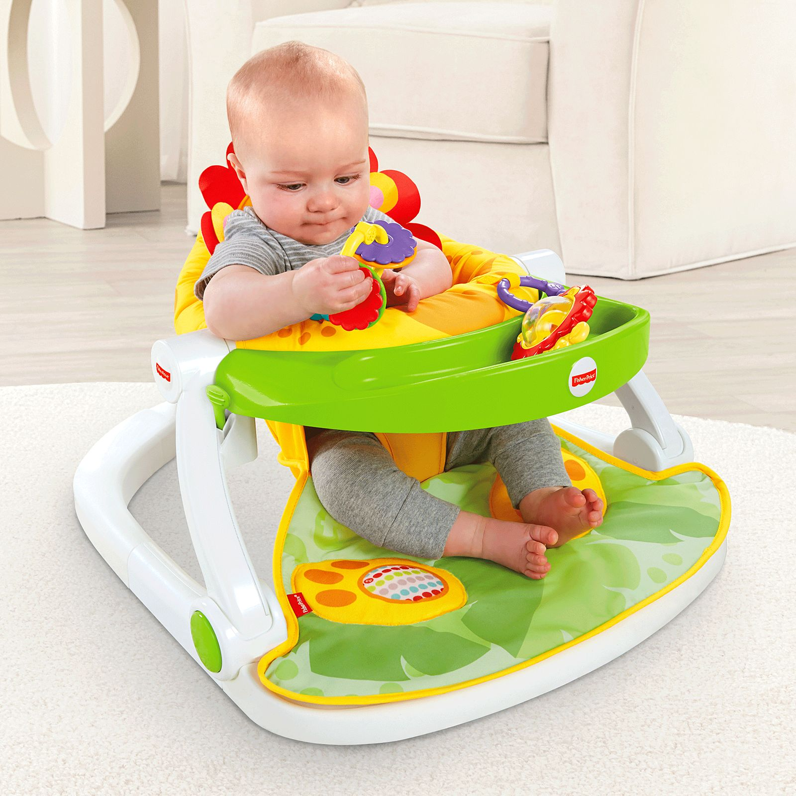NEW ~ Fisher Price Sit Me Up Floor Seat Replacement Pad Cushion