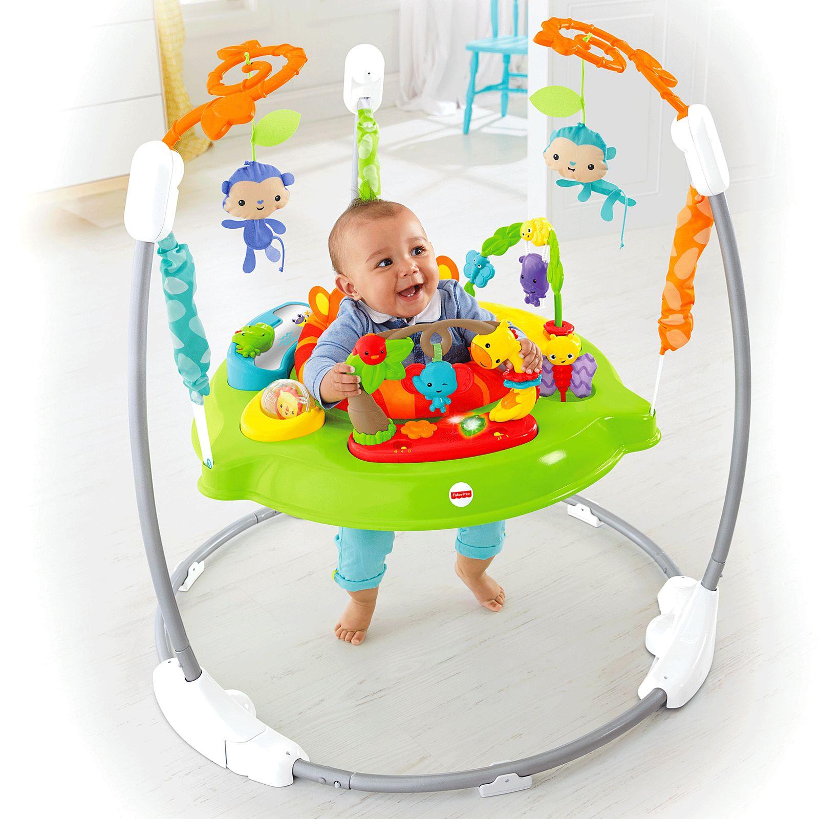 hot-selling new authentic pretty nice Roarin' Rainforest Jumperoo®