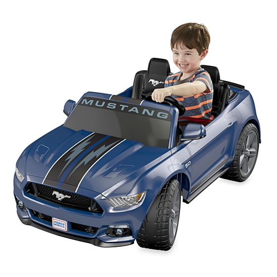 Power Wheels 174 Smart Drive Ford Mustang