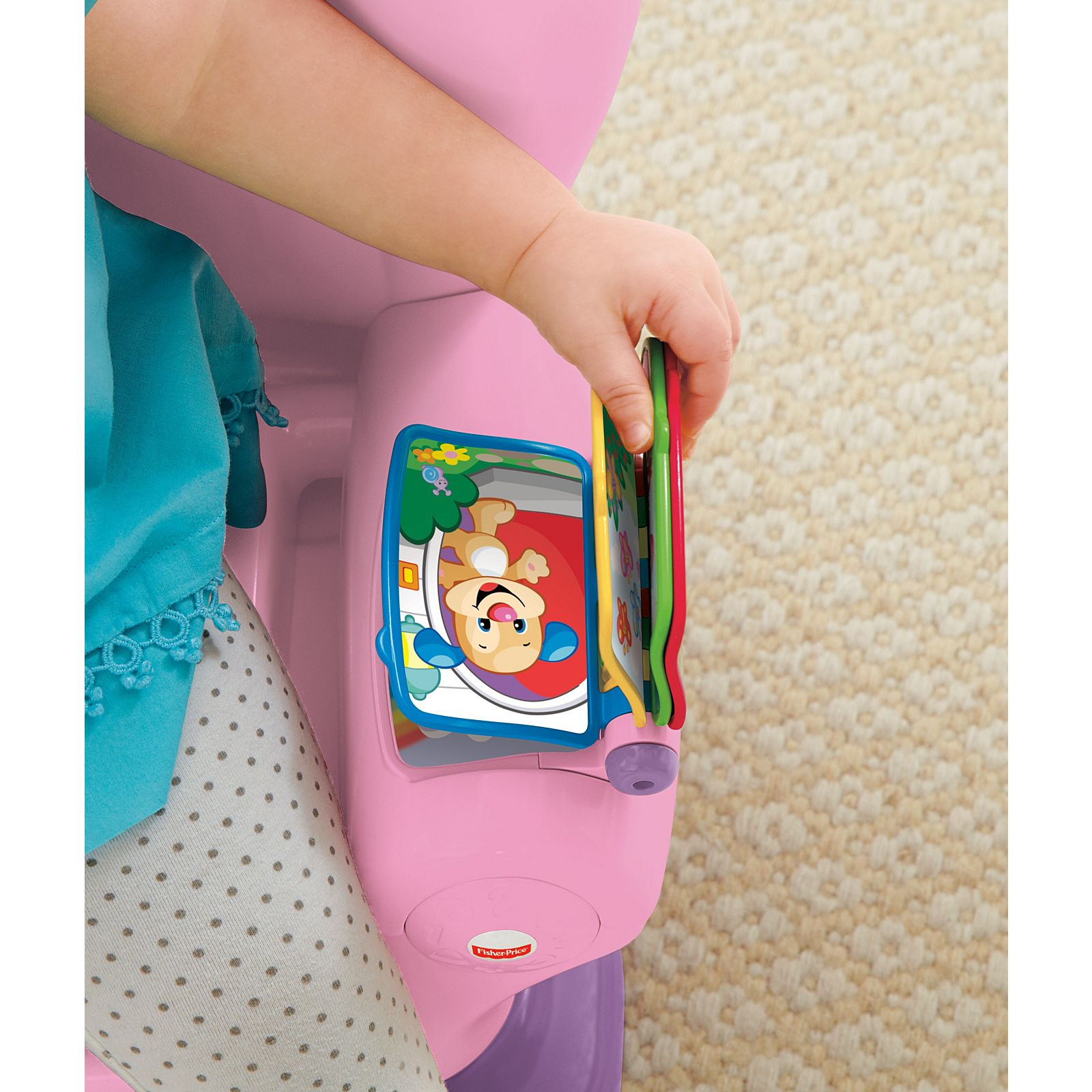 Fisher-Price Laugh /& Learn Smart Stages Chair Pink