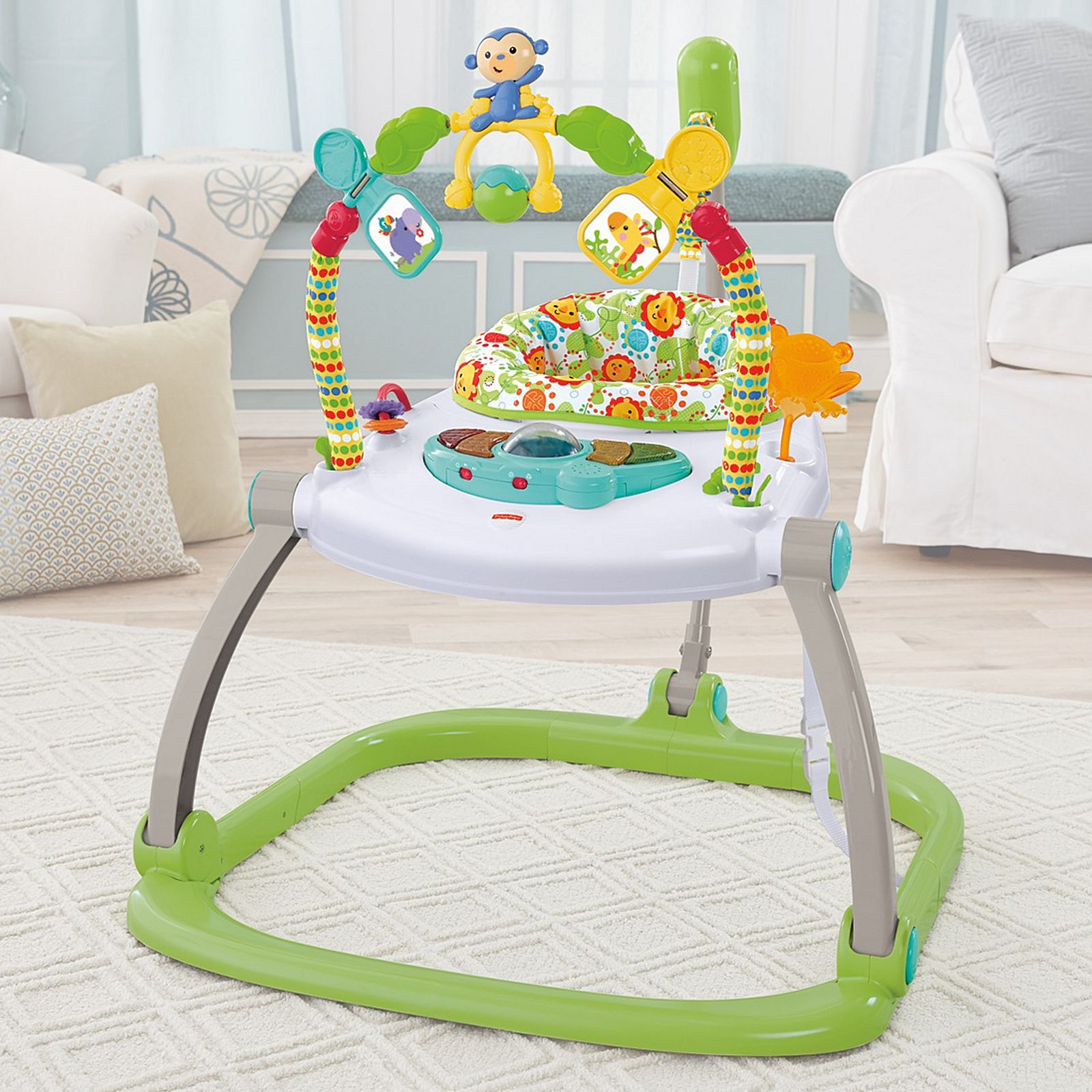 474d464c9 Rainforest Friends SpaceSaver Jumperoo®