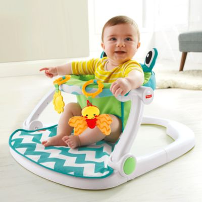 Sit-Me-Up Floor Seat - Citrus Frog  sc 1 st  Fisher-Price & Toys for 4 Month Old Baby - Infant Toys | Fisher-Price