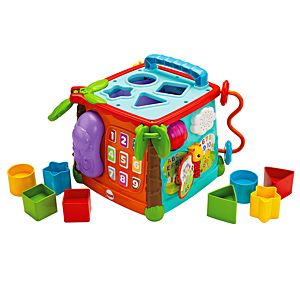 George Home 5 in 1 Wooden Activity Cube | View All George ...