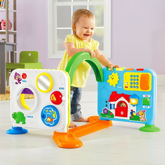 Farm Toddler Toys Age Two : Laugh learn crawl around learning center