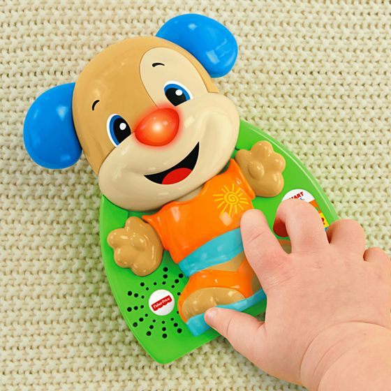 Fisher Price Laugh and Learn To Dress Puppy Singing and ...
